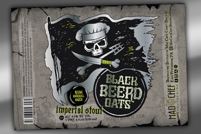 Black Beerd Oats, Mad Chef Craft Brewing